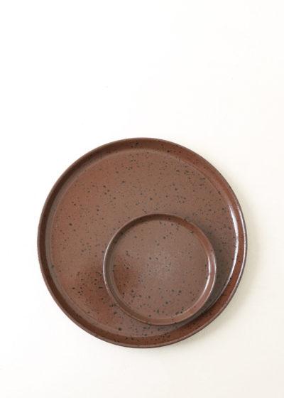 Small 'YANN' plate