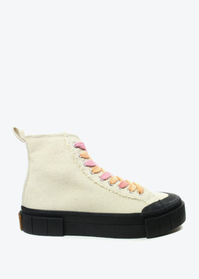 'Palm cora' sneakers in oatmeal by Good News