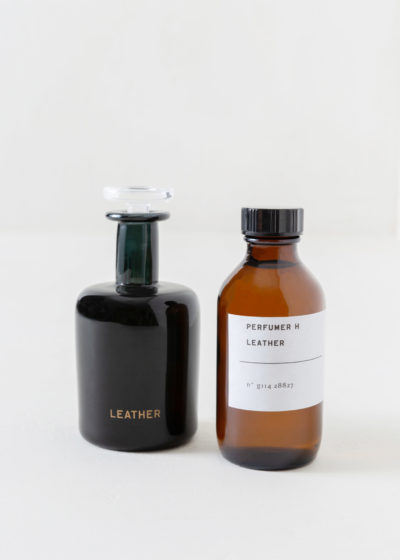 Leather refill bottle by Perfumer H