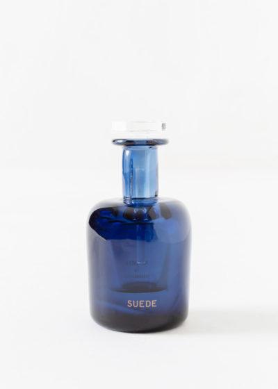 Suede hand blown bottle by Perfumer H