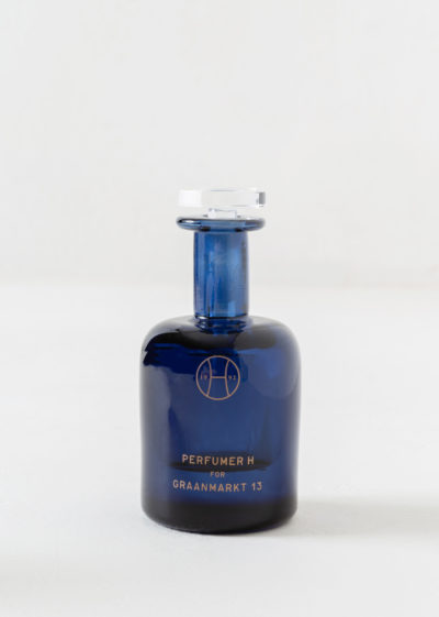 Ink hand blown bottle by Perfumer H