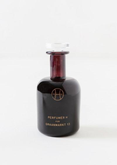 Powder hand blown bottle by Perfumer H