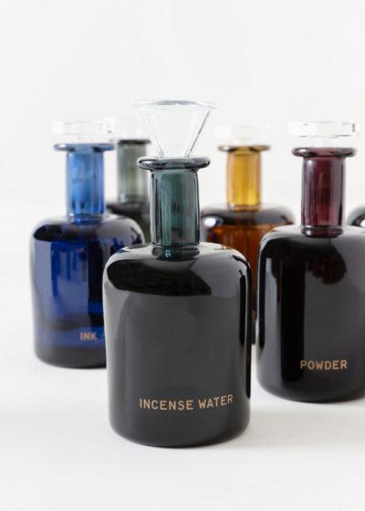 Incense water hand blown bottle by Perfumer H