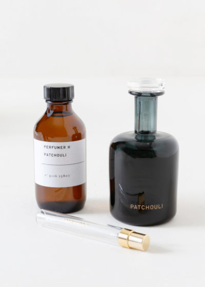 Patchouli hand blown bottle by Perfumer H