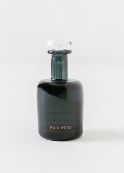 Rainwood hand blown bottle by Perfumer H