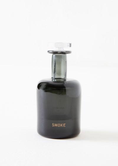 Smoke hand blown bottle by Perfumer H