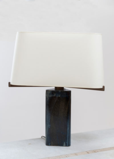 Small ceramic lamp by Atelier Pierre Culot