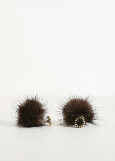 Mink cufflinks by Samuel Gassmann