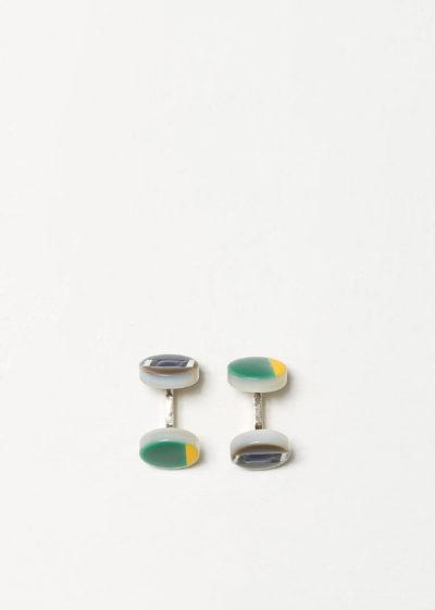Duck cufflinks by Samuel Gassmann