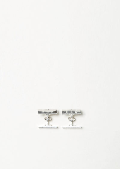 Irrational cufflinks by Samuel Gassmann