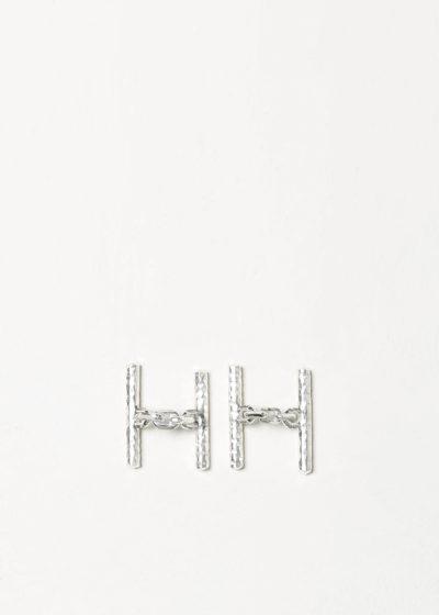 Irrational cufflinks with chains by Samuel Gassmann
