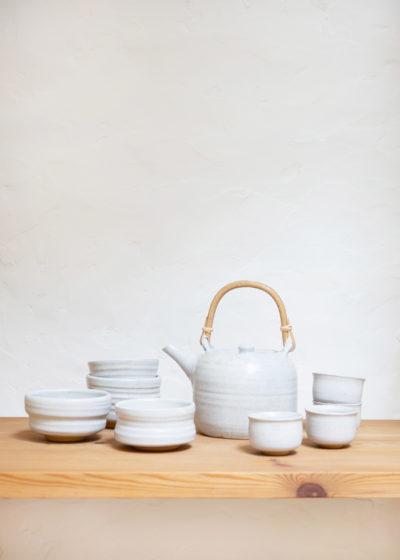 Dinner ware set white by Atelier Pierre Culot