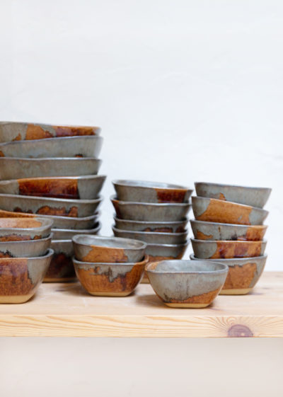 Dinnerware set tomato by Atelier Pierre Culot