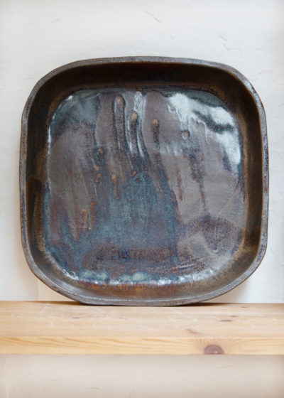 Large ceramic plate by Atelier Pierre Culot