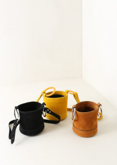 Bonsai mini bucket bag by Simon Miller