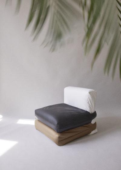 The Pillow Sofa  (1-seater) by KASSL Editions X Muller Van Severen