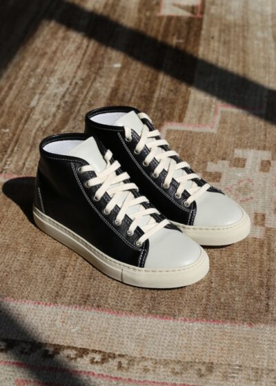 Fyodor high tops in Black Mastic by Sofie D'hoore