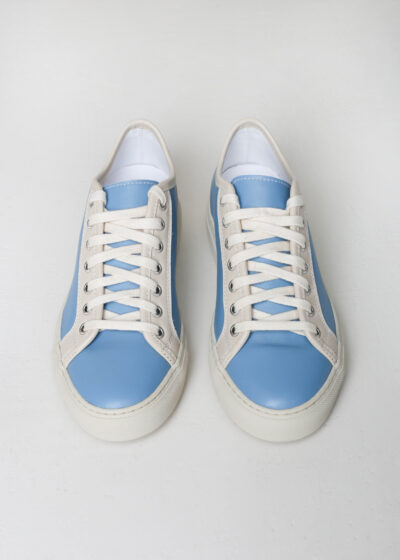'Fast' Sneaker combi color light blue by Sofie D'hoore