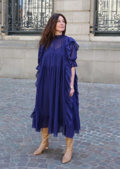 Fringed 'Depeche' dress by Sofie D'hoore