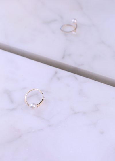 Akoya pearl ring by Sophie Bille Brahe