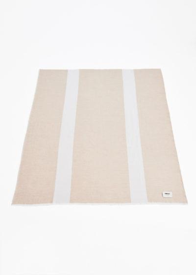Fine merino plaid by John Pawson for Tekla Fabrics