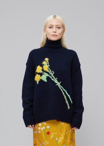 'Sofia' turtleneck knit by Bernadette