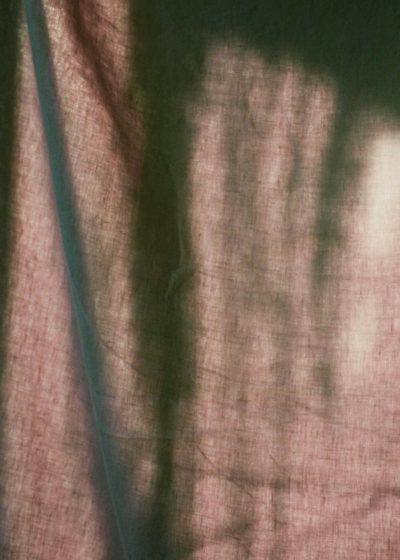 Linen flat sheet 260x260 cm by Tekla Fabrics