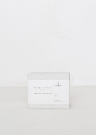 Spiral box incense by Tennen Studio