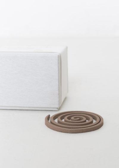 Spiral box incense