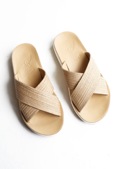 Thais natural sandals by Ancient Greek Sandals