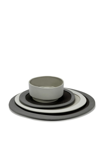 Asymmetrical bowl (available in two colours) by Maarten Baas for valerie_objects