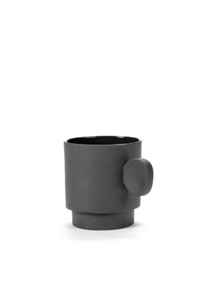 Asymmetrical mug by Maarten Baas for valerie_objects