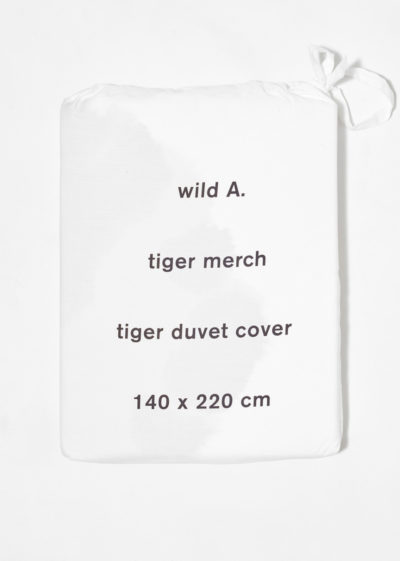 Tiger duvet for single bed by Wild Animals