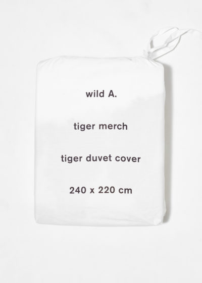 Tiger duvet for double bed by Wild Animals
