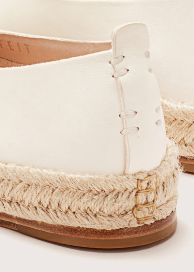 Leather espadrilles by Feit