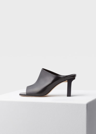 'Winston' black heels by Aeyde