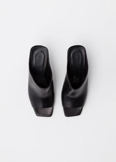 'Winston' black heels by Aeyde