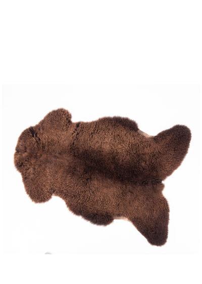 Brown sheepskin rug by Weltevree