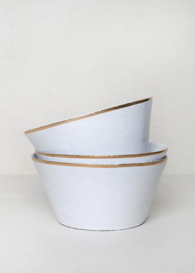 Cresus salad bowl by Astier de Villatte