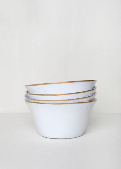 Cresus small salad bowl by Astier de Villatte