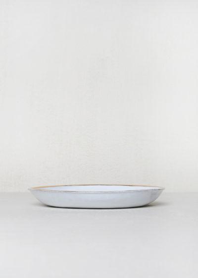 Cresus soup plate by Astier de Villatte