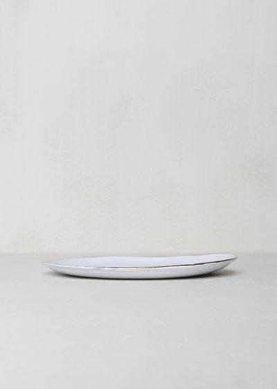 Cresus small dinner plate by Astier de Villatte
