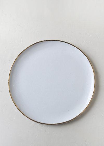 Cresus large dinner plate by Astier de Villatte