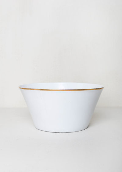 Cresus large salad bowl by Astier de Villatte