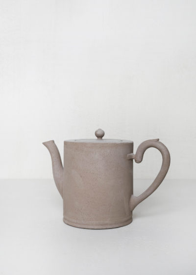 Colbert small teapot raw clay by Astier de Villatte
