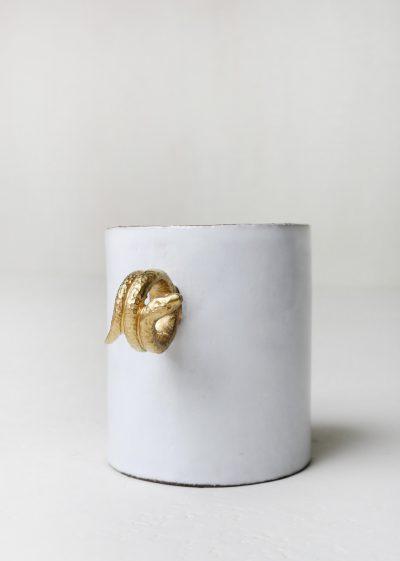 Large 'snake' cup by Astier de Villatte