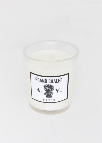 Grand Chalet scented candle by Astier de Villatte