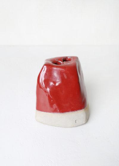 Pick fleur vase (2 holes) by Antoine Vandewoude