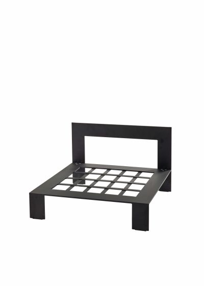 Bench One Seater Chalk Outdoor by Items by Bea