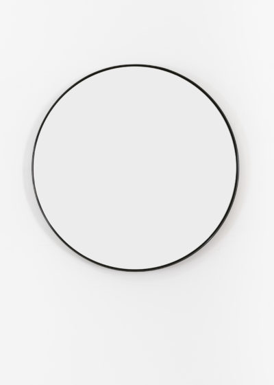 Small 'Béatrice' mirror in lacquered steel by illus